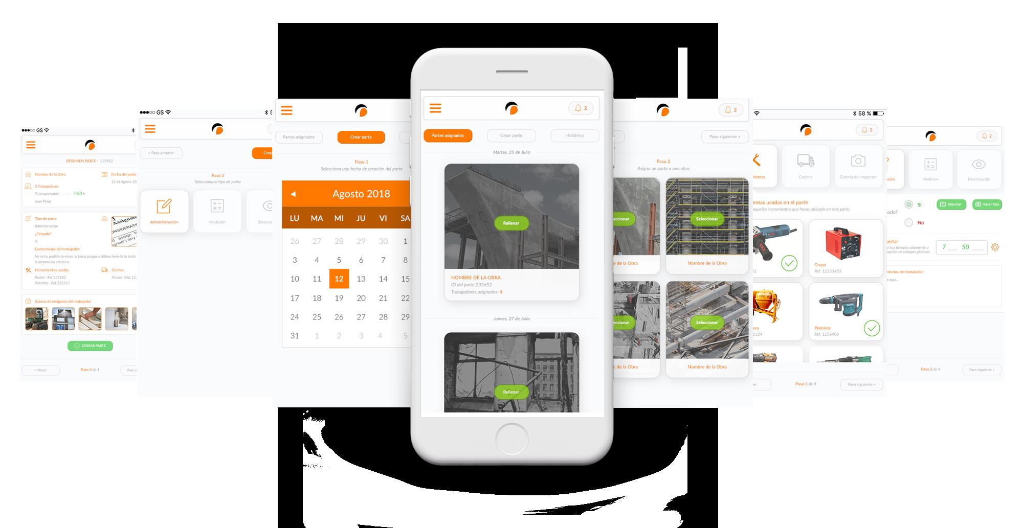 INGEDECA - App control de Obras y trabajadores