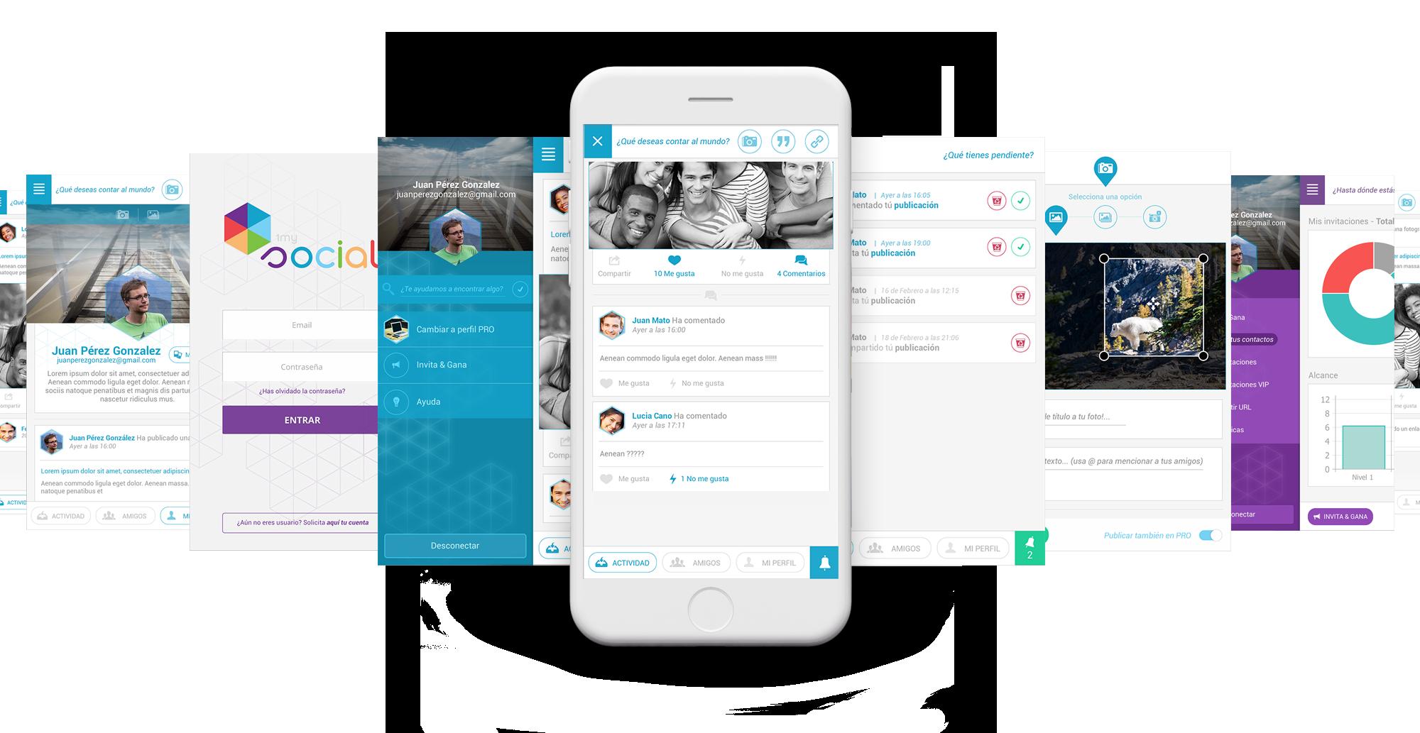 1mysocial - Plataforma de comunicación