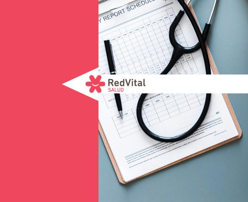 Redvita Salud - Dashboard de control y roles de gestión